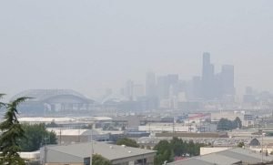 What's the latest on smoke in the Pacific Northwest?